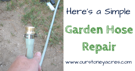 Garden Hose Repair - FB