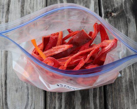 Frozen Peppers