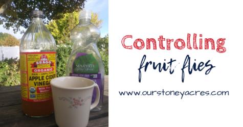 Organic Method for Controlling Fruit Flies