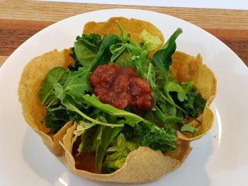 Homemade Tacp Bowl Salad