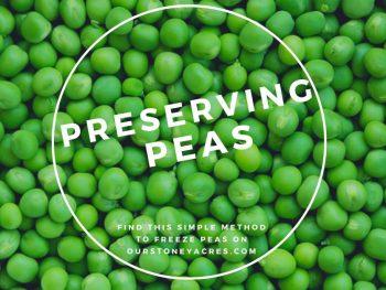 Preserving Peas