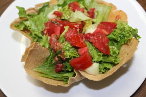 Homemade Taco Bowl Salad 1