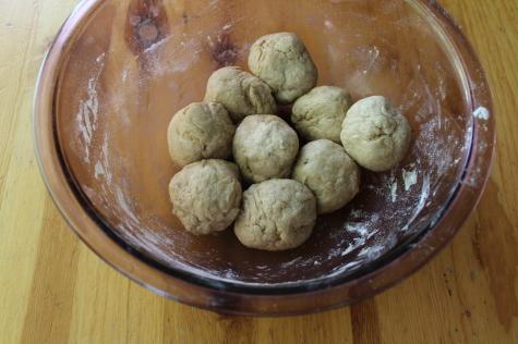 Homemade Whole Wheat Tortillas dough