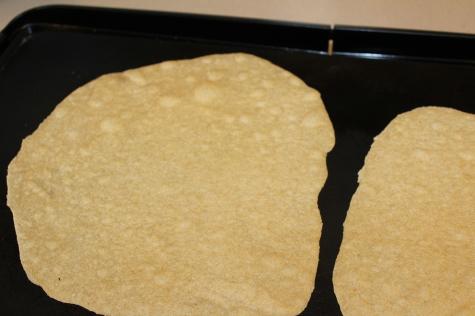 Homemade Whole Wheat Tortillas cook