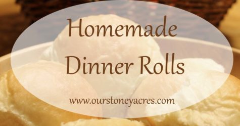 Homemade Dinner Rolls FB