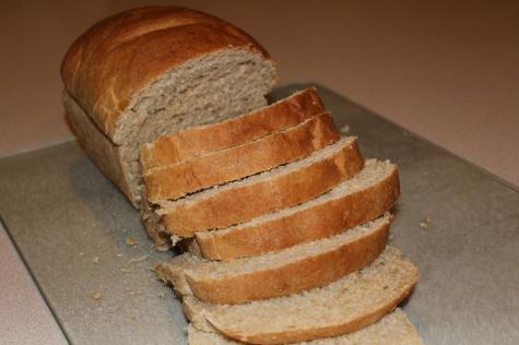 Homemade Whole Wheat Sandwich Bread