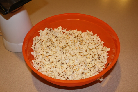 Growing your own popcorn - Finished product