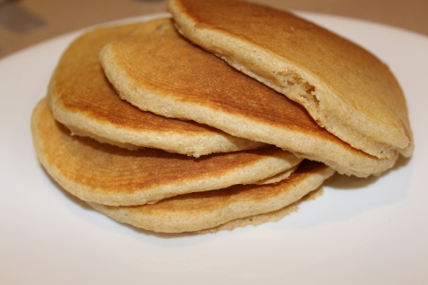 whole wheat waffles and pancakes 3
