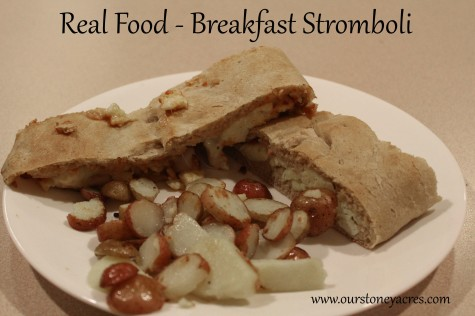 Breakfast Stromoboli