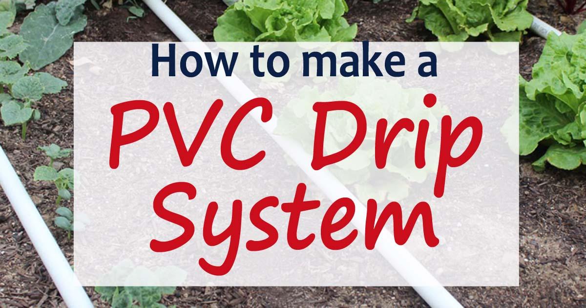 Pvc drip irrigation system for your garden stoney acres solutioingenieria Gallery