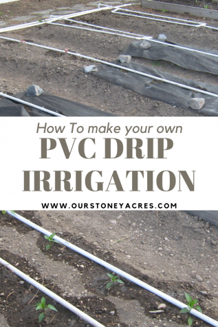 How to make your own PVC Drip Irrigation system