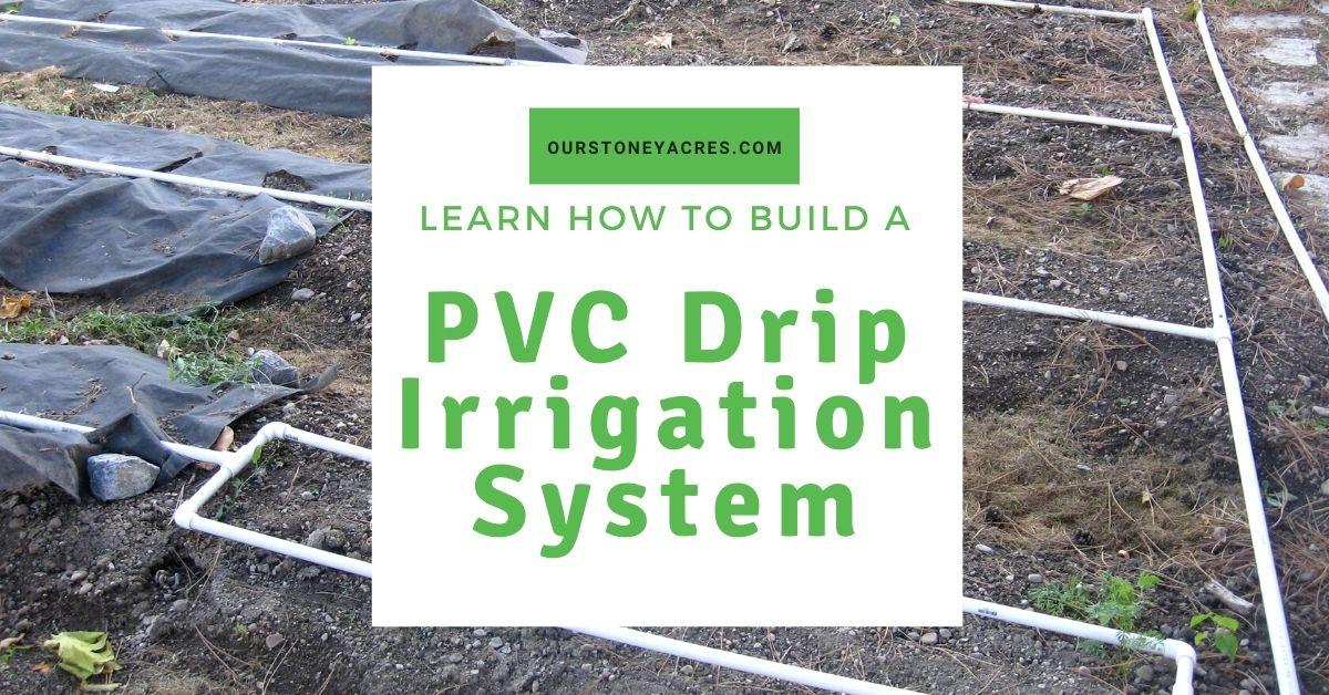 PVC Drip Irrigation System