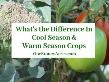 Cool Vs Warm Season Crops Feature