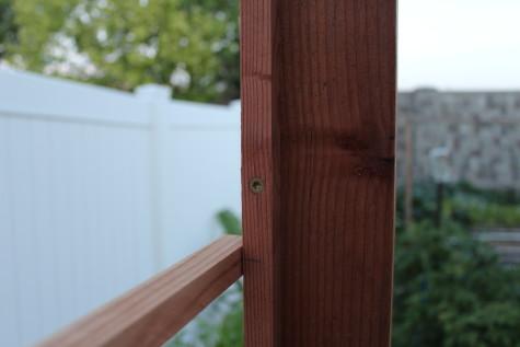 Building a Grape Arbor frame