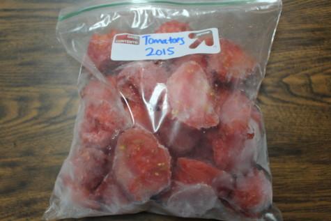 Freezing Tomatoes bag