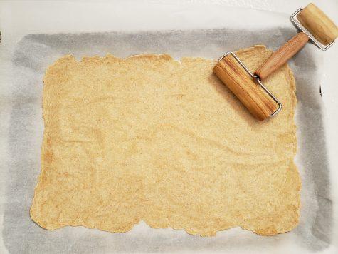 Homemade whole wheat crackers