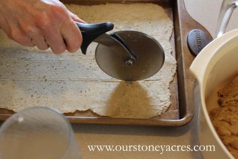 Homemade Whole Wheat Crackers 4