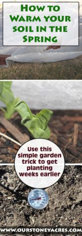 Warming Your Soil in the Spring