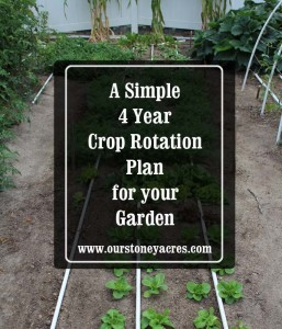4 Year Crop Rotation Plan Cover