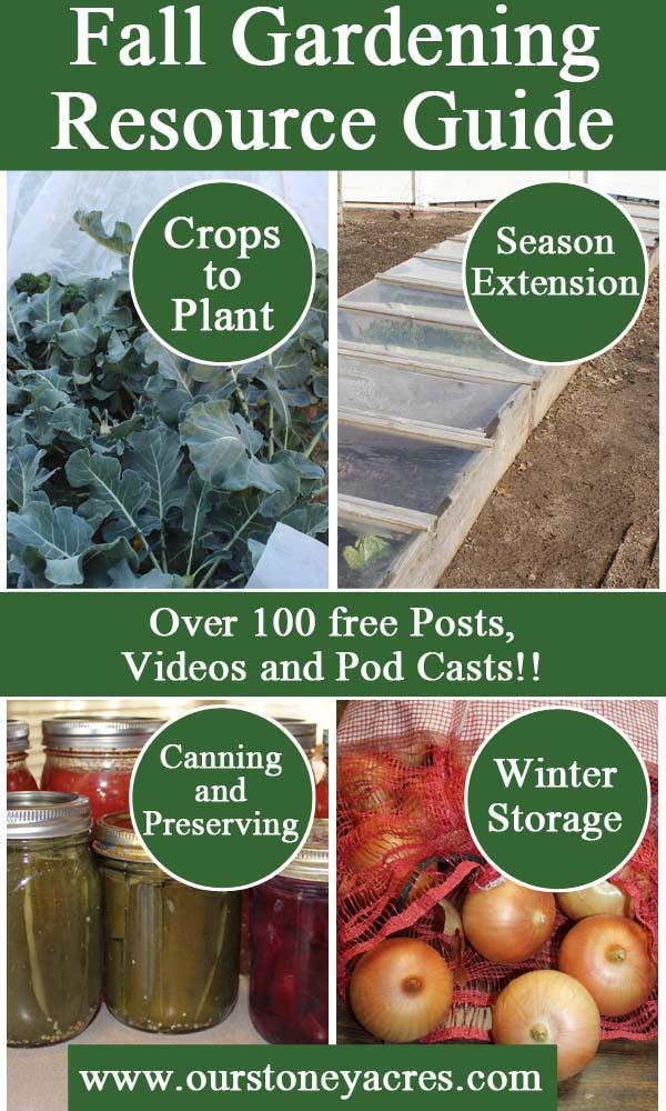 Fall Gardening Resource Guide
