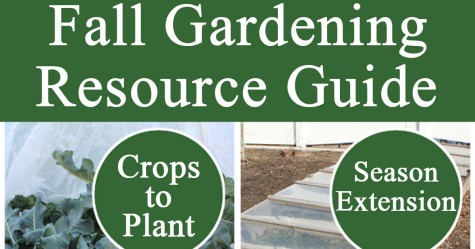 Fall Gardening Resource Guide