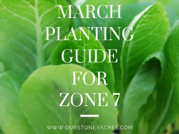 March Planting Guide for Zone 7 - FB
