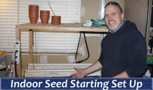 Seed Starter YouTube Thumbnail
