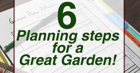 Planning your garden FB
