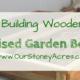 Raised Garden Bed- FB