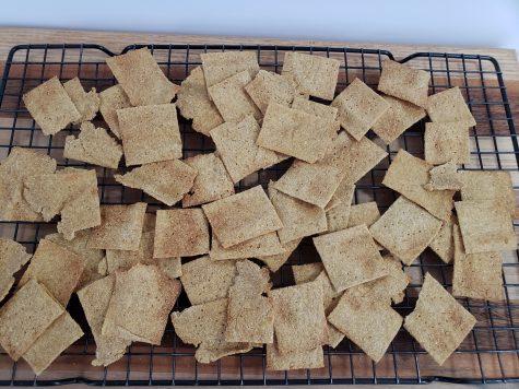 Wheat thins homemade