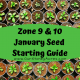 January Planting List - Face Book