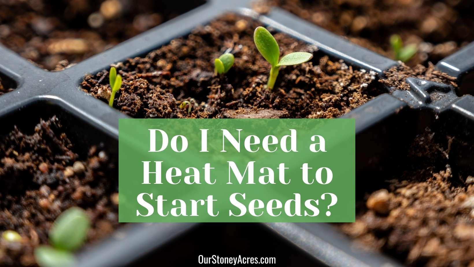 Heat Mat for Starting Seedlings