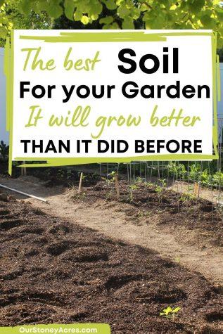 Best Soil for your Garden